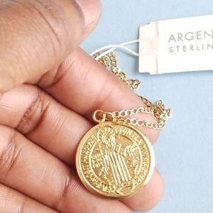 Argento Vivo Saint Benedict Necklace